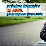 curso intensivo 25 de abril